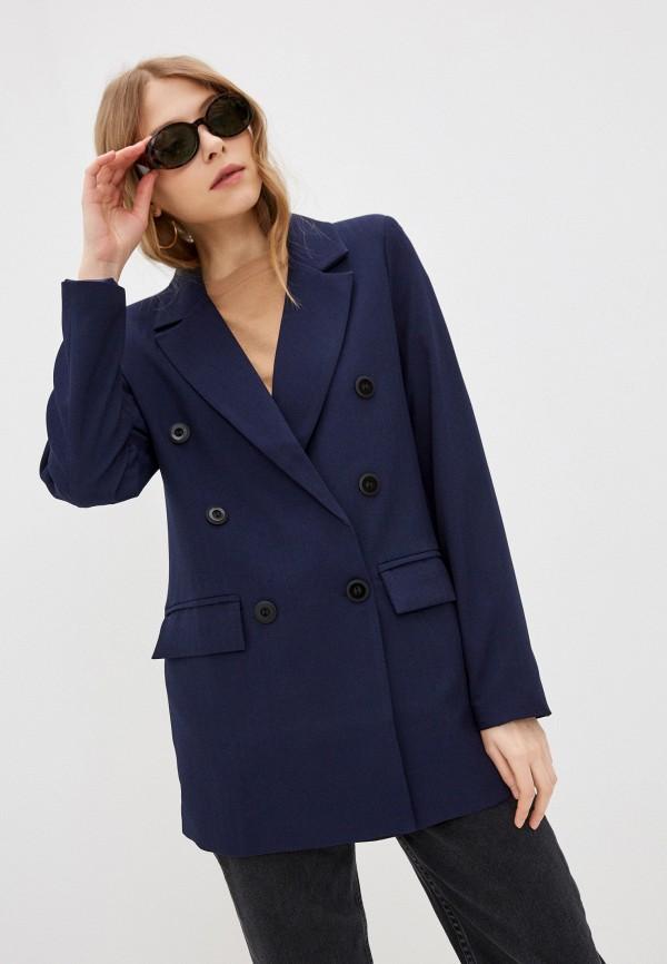 женский пиджак elardis, синий