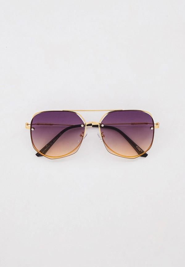 женские авиаторы солнцезащитные очки keddo, золотые