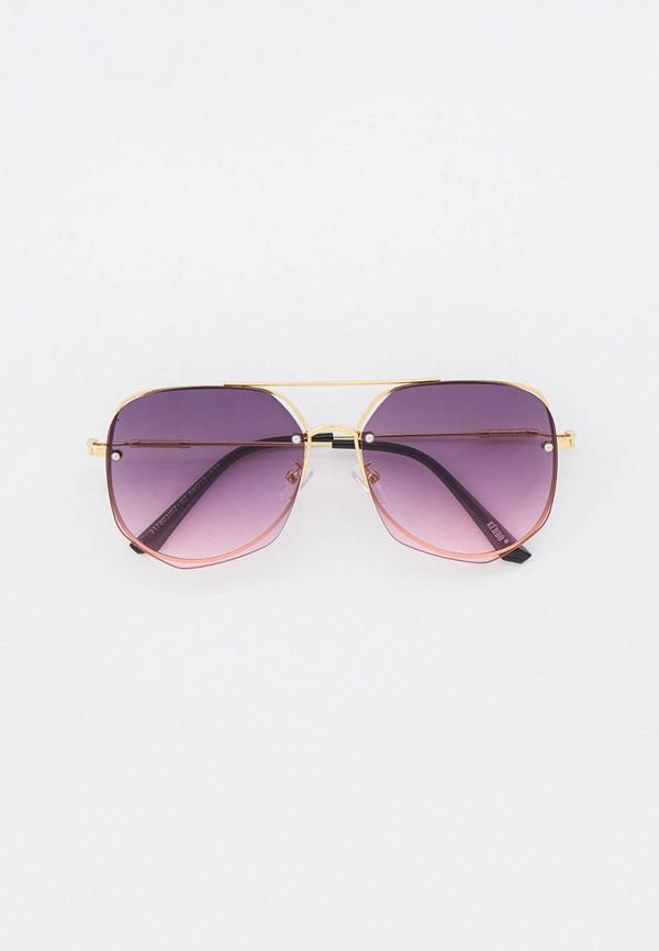 женские солнцезащитные очки keddo, фиолетовые