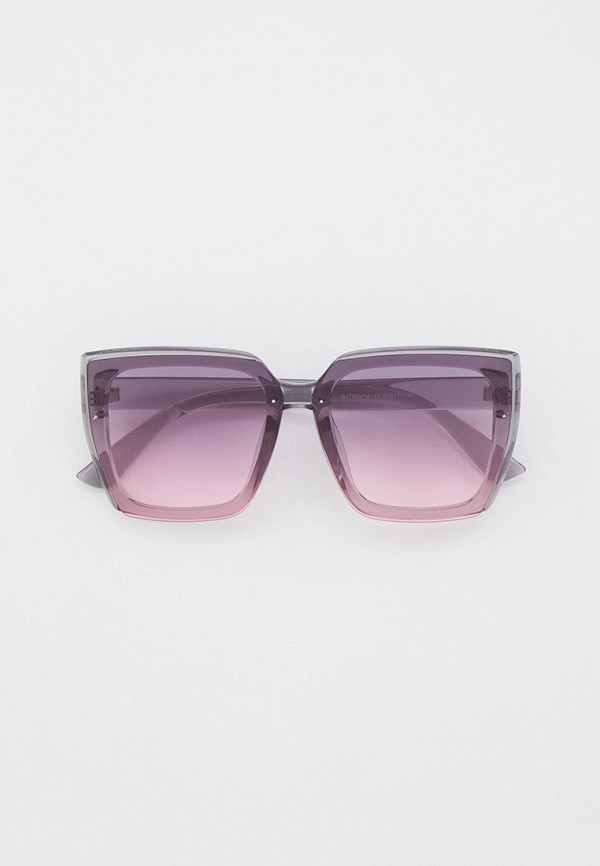 женские квадратные солнцезащитные очки keddo, серые