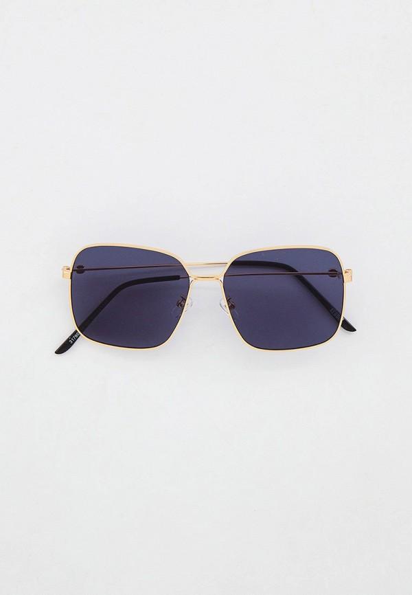 женские квадратные солнцезащитные очки keddo, золотые
