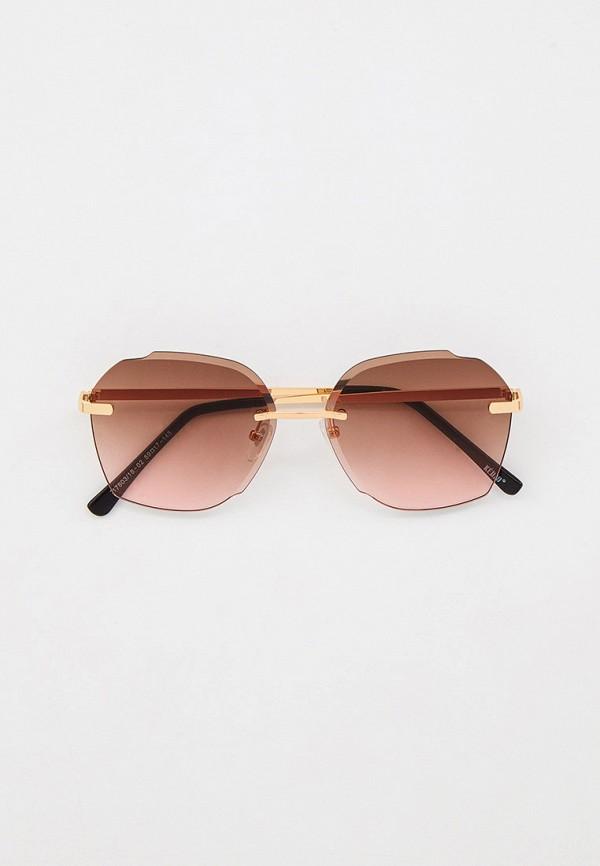 женские солнцезащитные очки keddo, золотые