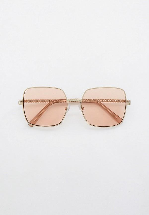 женские квадратные солнцезащитные очки keddo, серебряные