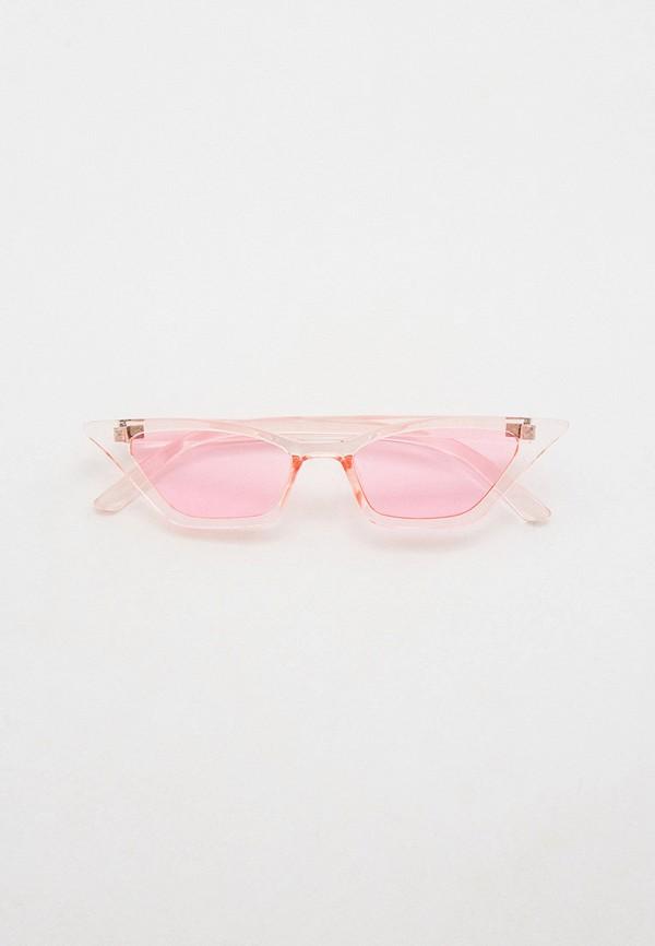 женские солнцезащитные очки keddo, розовые