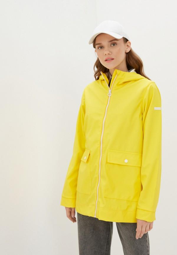 женская спортивные куртка regatta, желтая