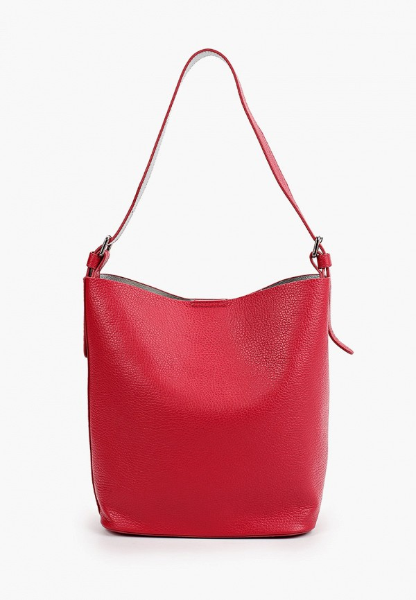 женская сумка с ручками afina, красная
