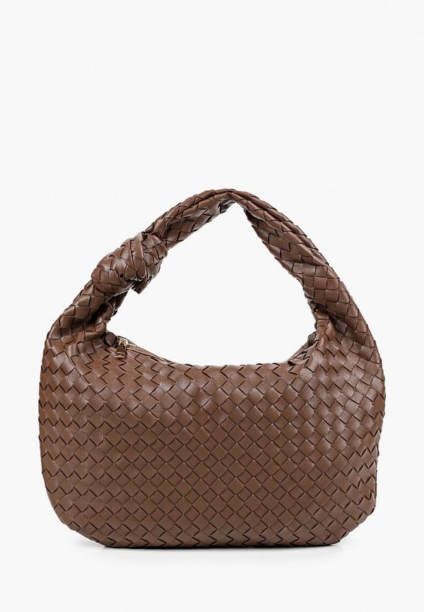 женская сумка через плечо ruxara, коричневая