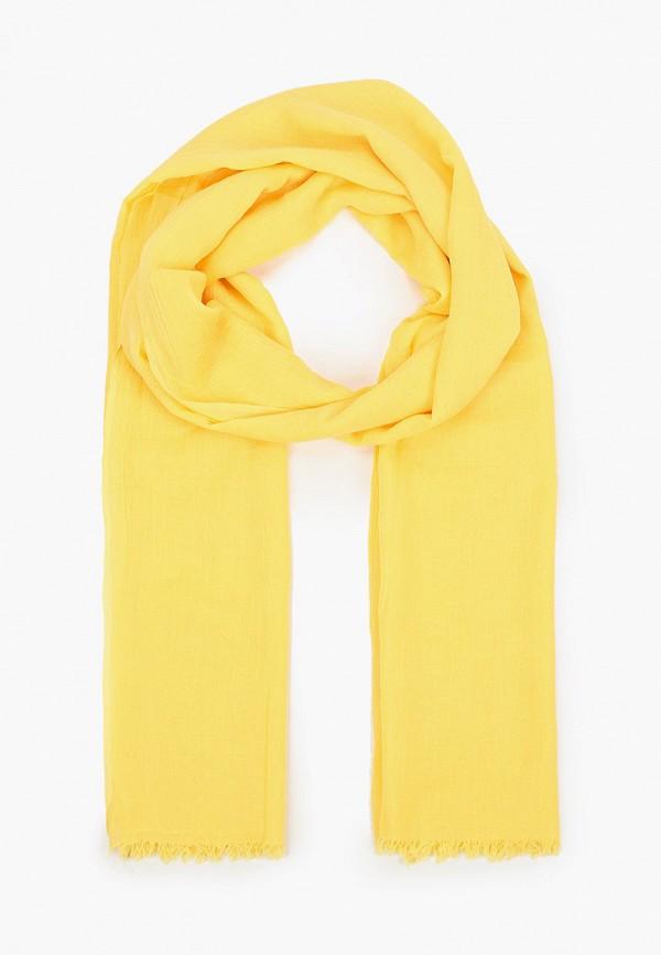 женский палантин laura milano, желтый