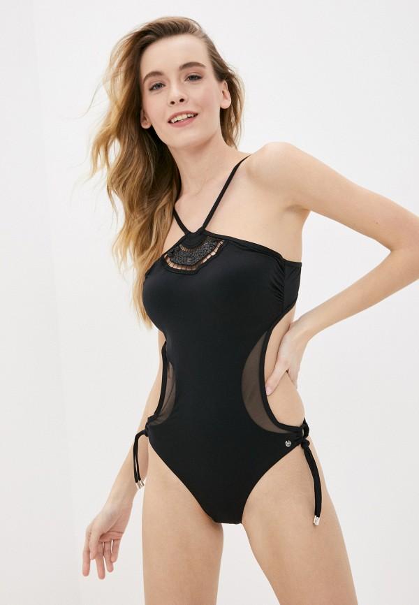 женский купальник lisca, черный
