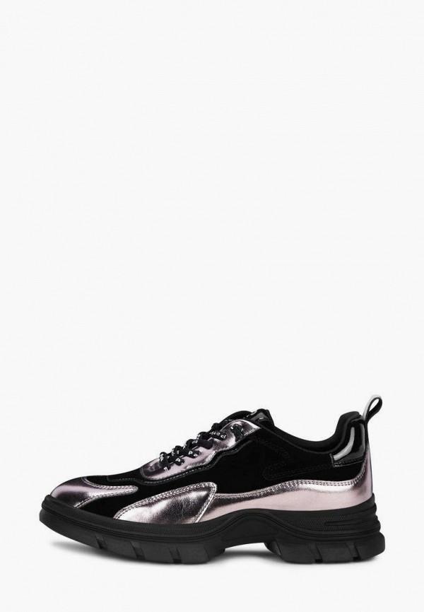 женские низкие кроссовки pierre cardin, черные