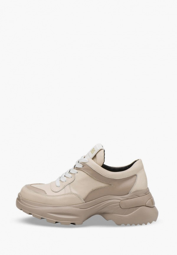 женские кроссовки bosser, коричневые