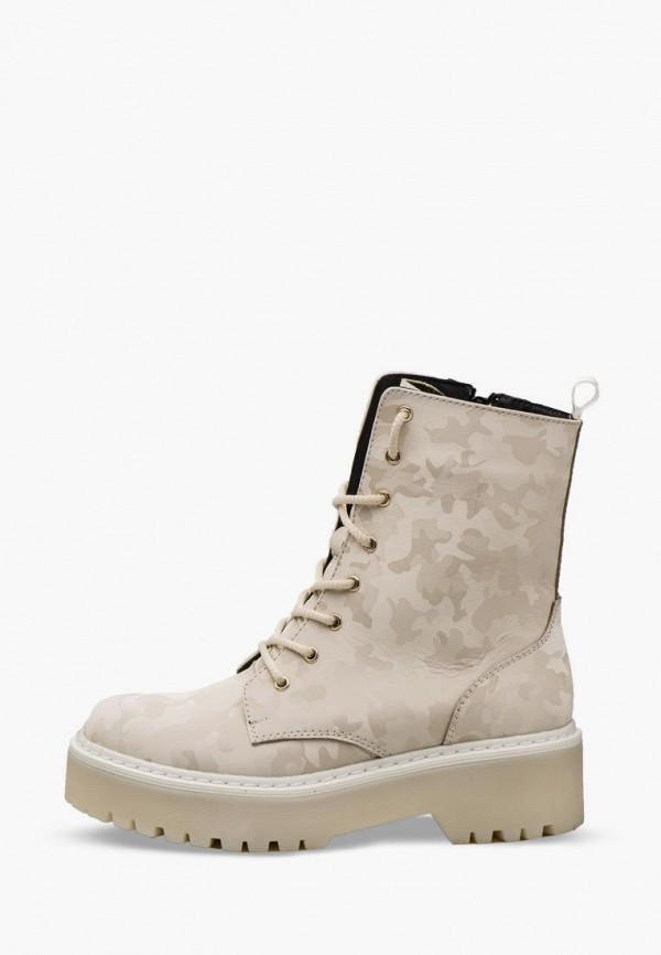 женские ботинки bosser, бежевые
