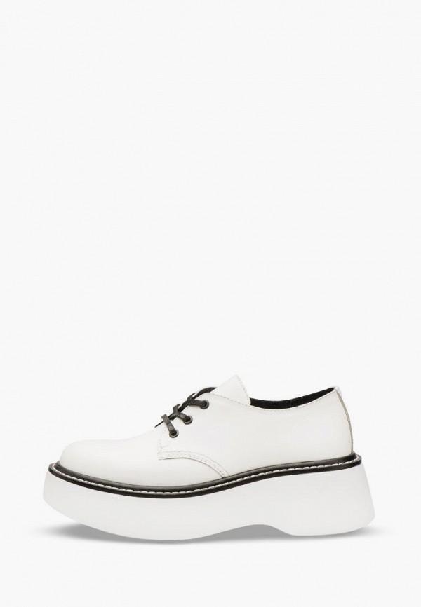 женские ботинки bosser, белые