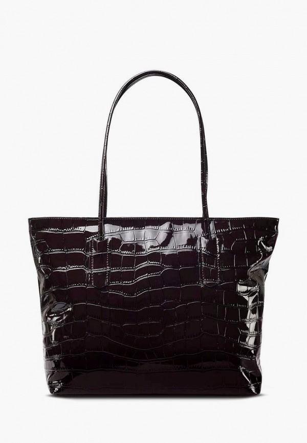 женская сумка-шоперы antan, коричневая