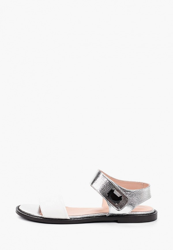 женские сандалии tuffoni, серебряные