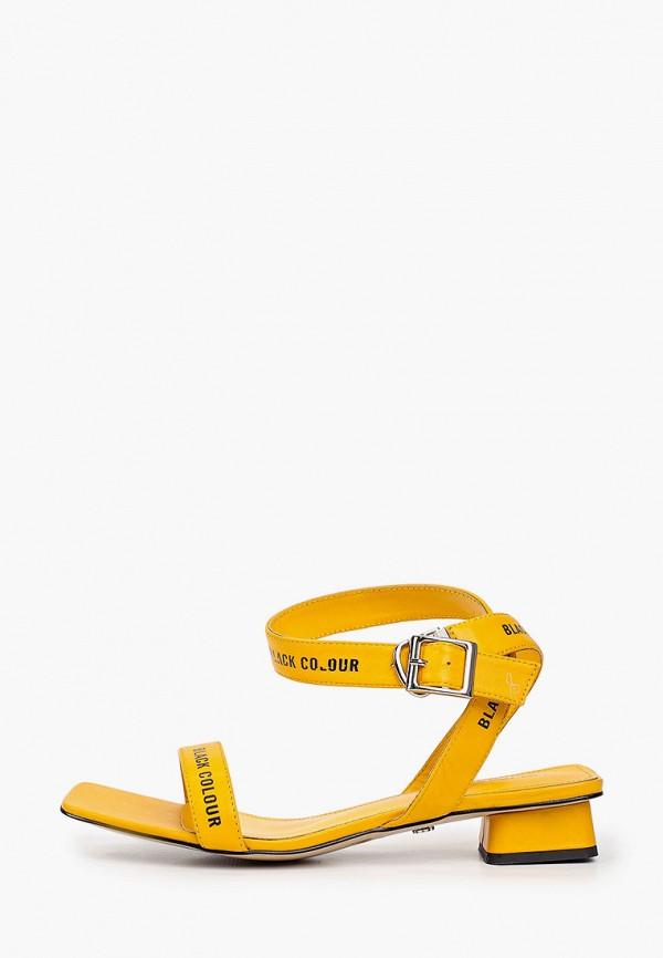 женские сандалии tuffoni, желтые