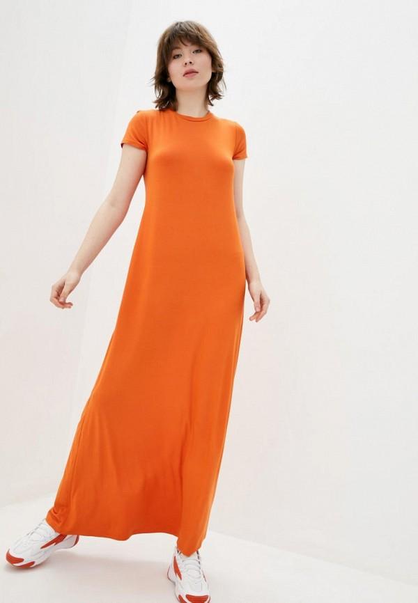 женское платье jhiva, оранжевое