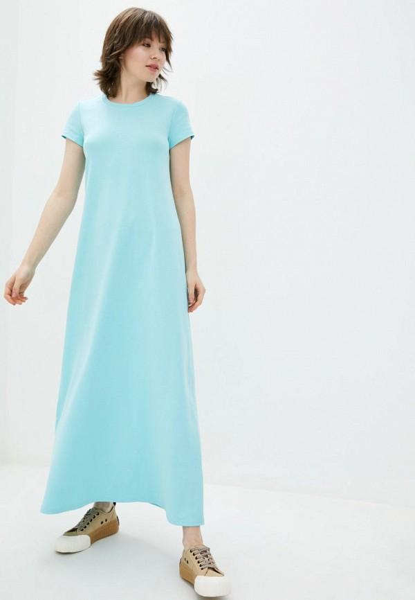 женское платье jhiva, голубое