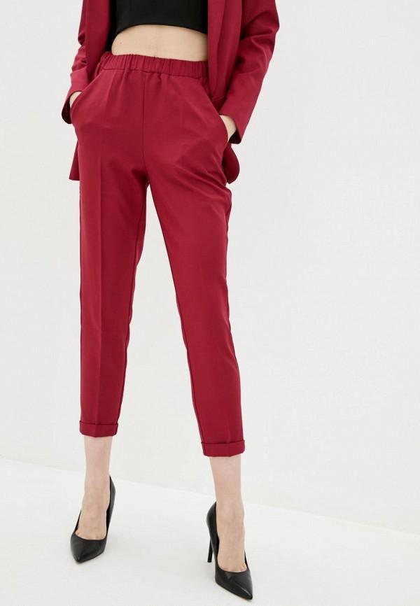 женские классические брюки jhiva, красные