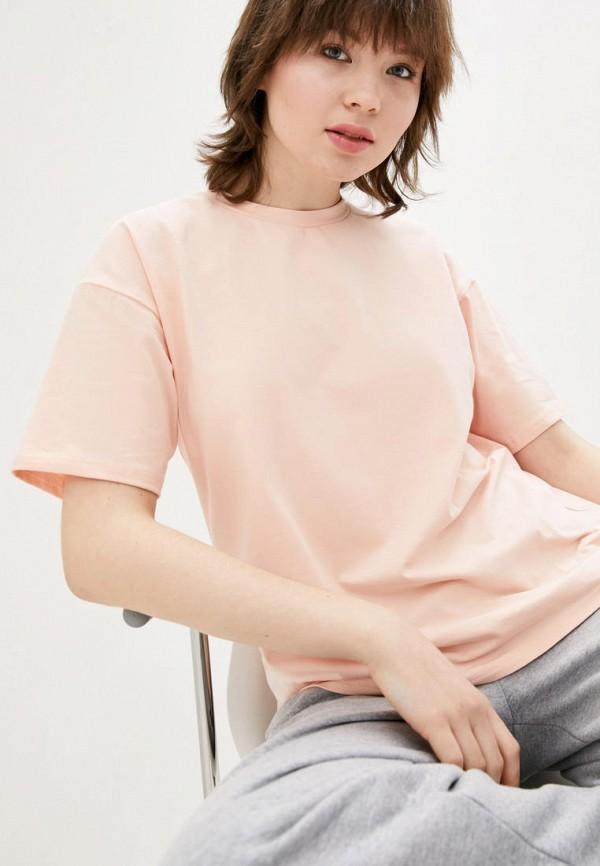 женская футболка jhiva, розовая