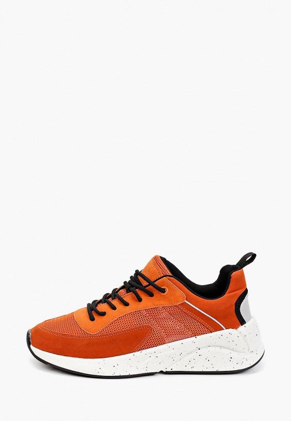 женские низкие кроссовки keddo, оранжевые
