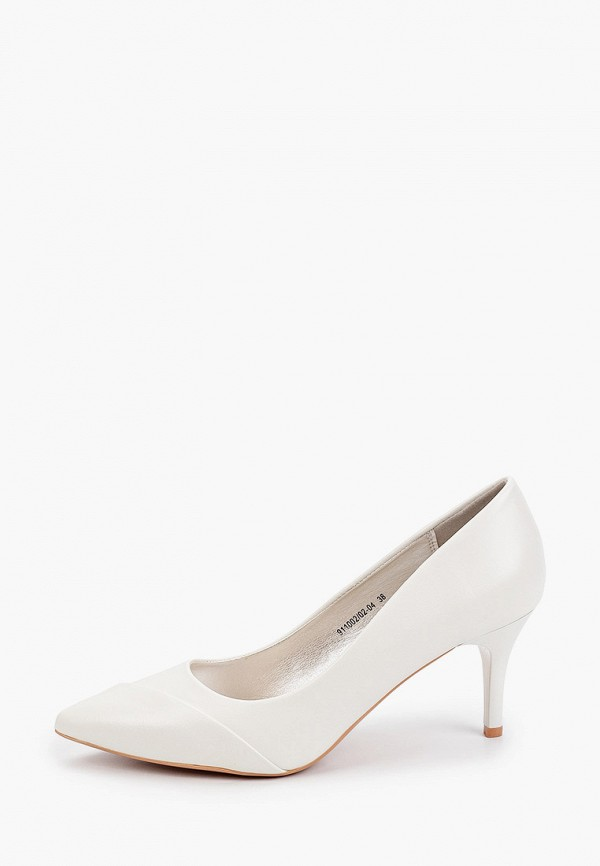 женские туфли-лодочки betsy, белые