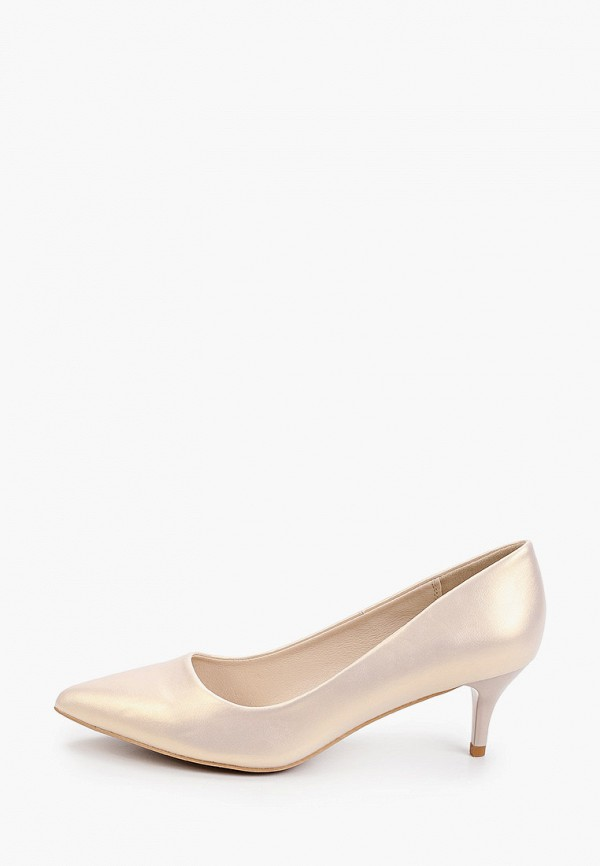 женские туфли-лодочки betsy, золотые