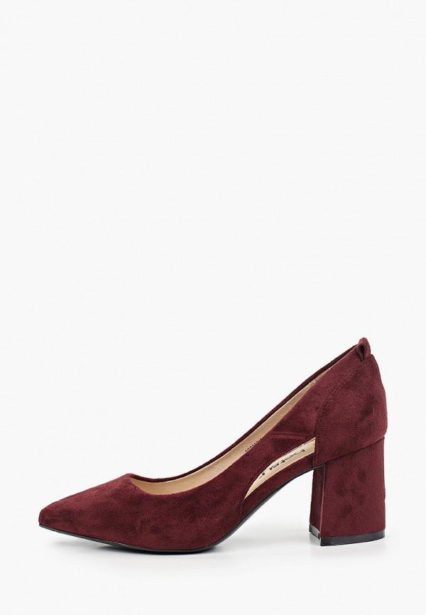 женские туфли с закрытым носом betsy, бордовые