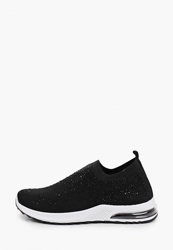 женские низкие кроссовки crosby, черные