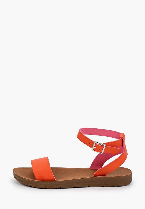 женские сандалии betsy, оранжевые