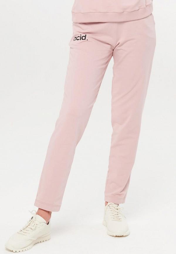 женские спортивные брюки jolifashn, розовые