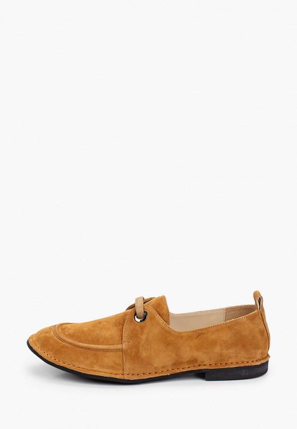 женские низкие ботинки mascotte, коричневые