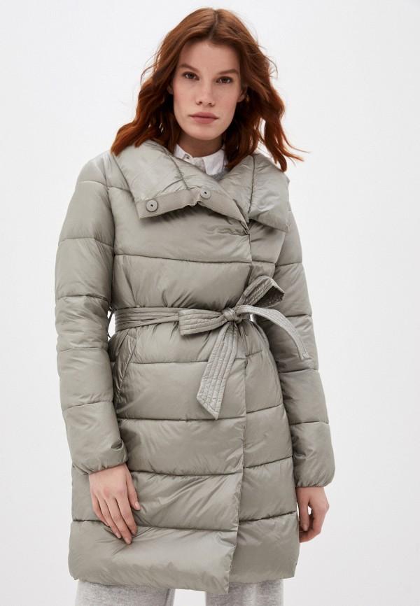 женская утепленные куртка o'stin, бежевая