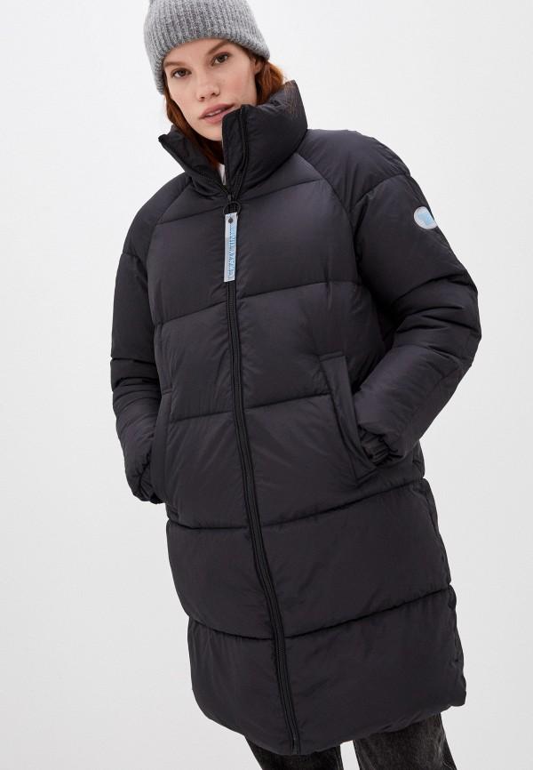 женская утепленные куртка o'stin, черная