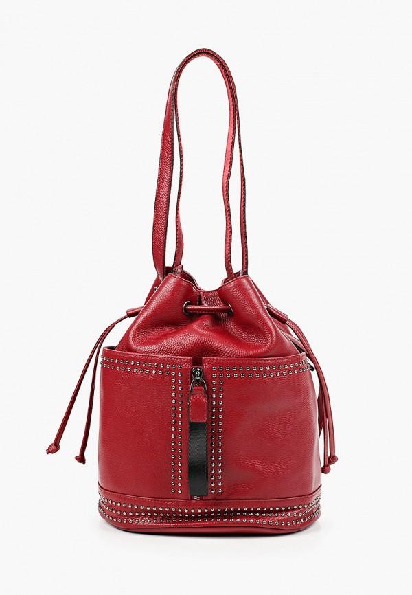 женский рюкзак marco bonne', красный