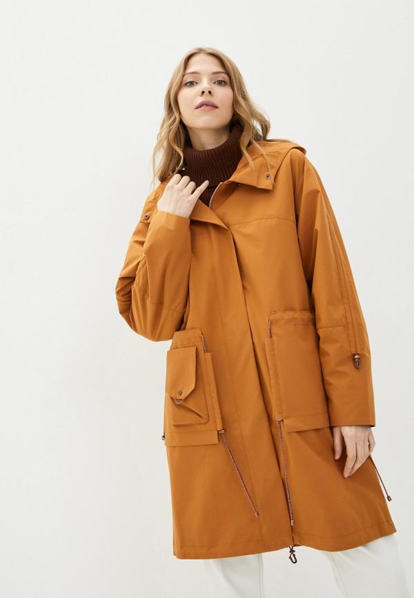 женская легкие куртка dimma, оранжевая