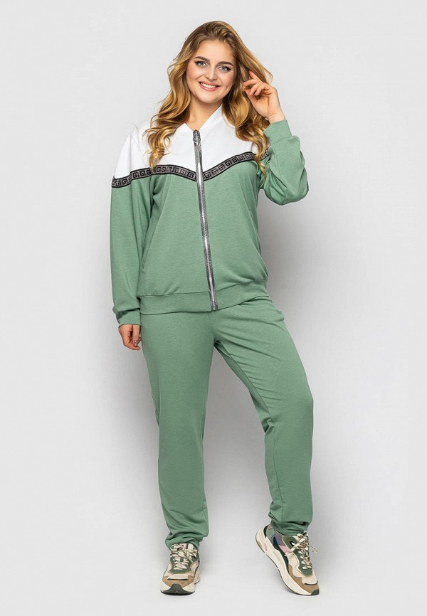 женский спортивный костюм vlavi, зеленый