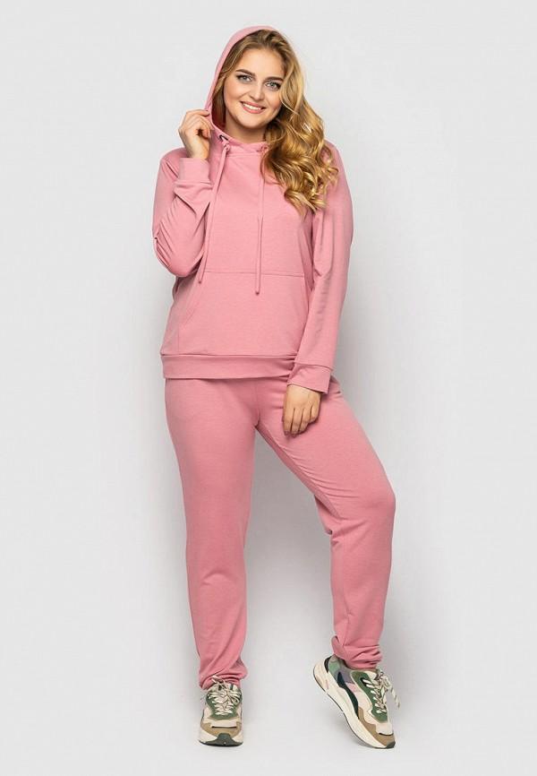 женский спортивный костюм vlavi, розовый
