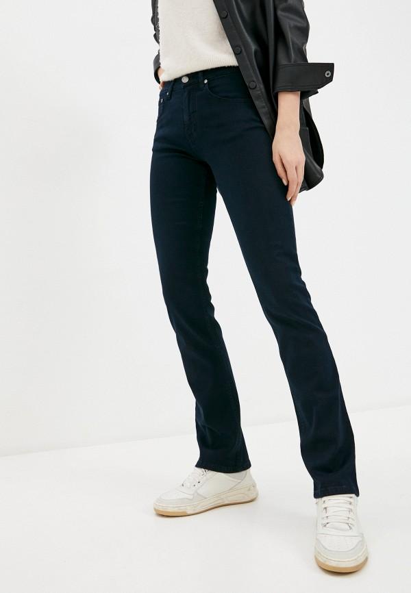 женские прямые джинсы velocity, синие
