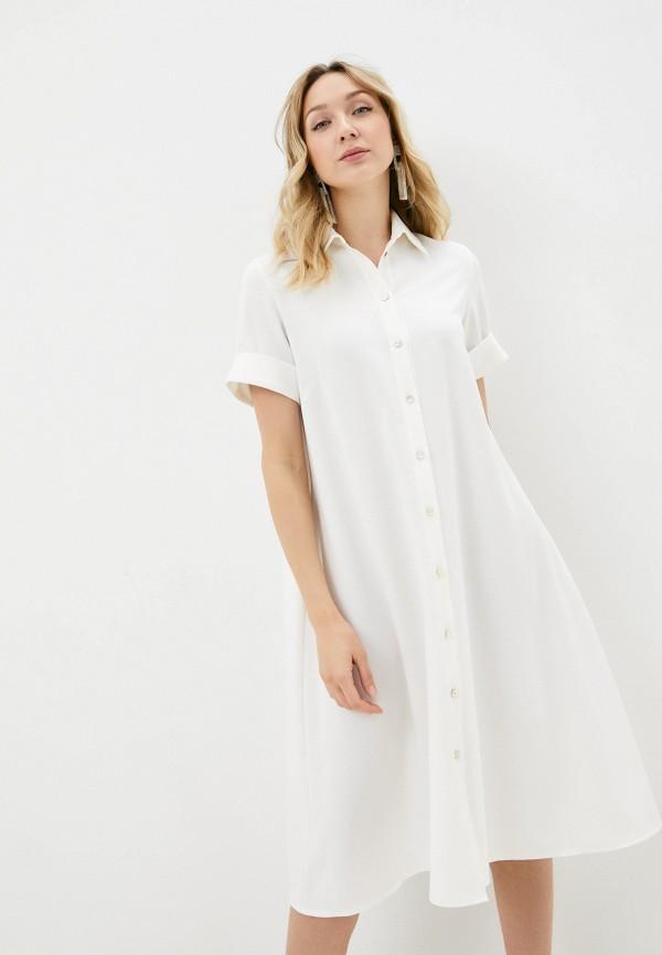женское платье-рубашки alina assi, белое