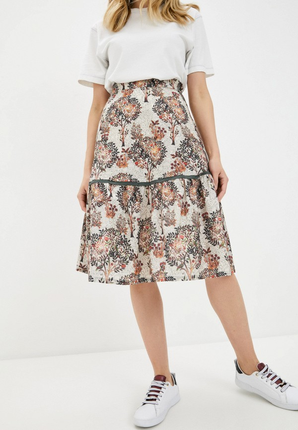 женская юбка-трапеции alina assi, разноцветная