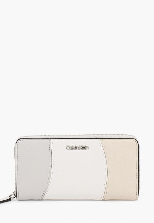 женский кошелёк calvin klein, разноцветный