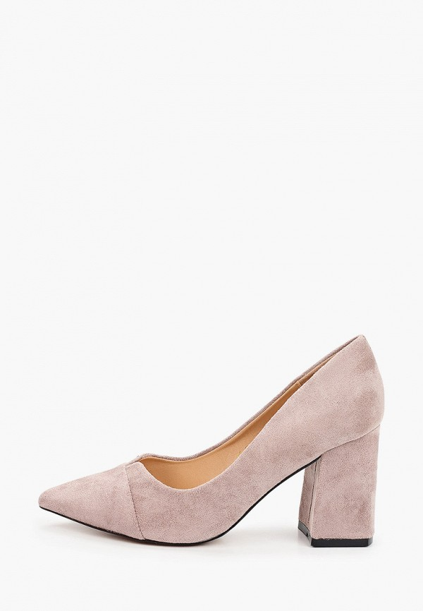 женские туфли с закрытым носом араз, серые