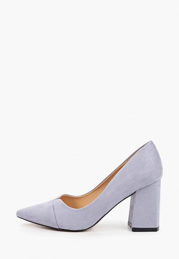 женские туфли с закрытым носом араз, голубые
