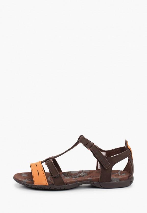женские сандалии outventure, коричневые