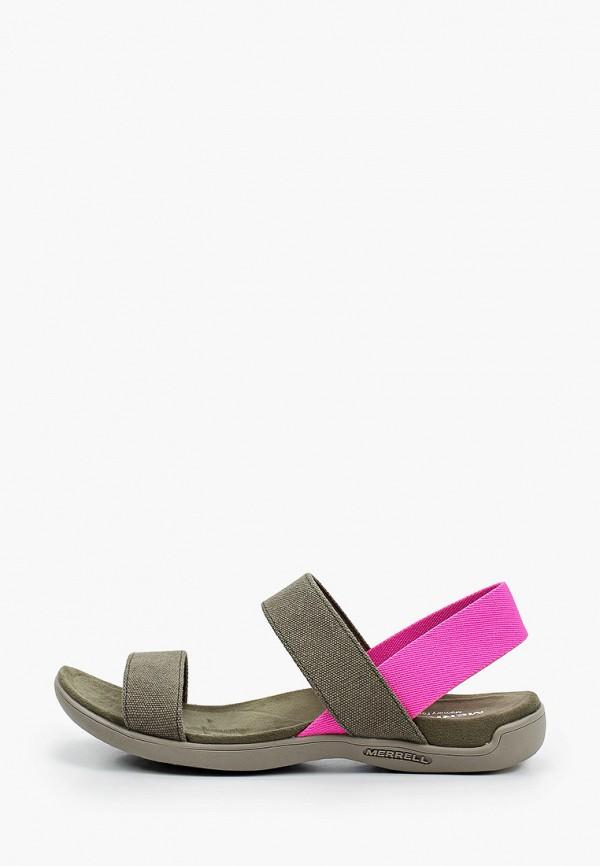 женские сандалии merrell, хаки