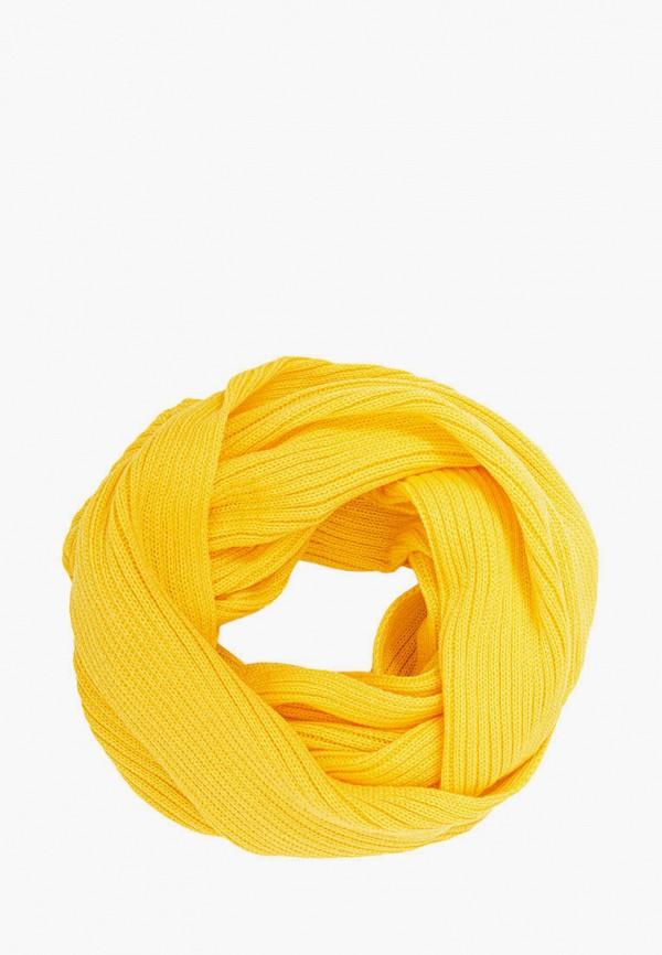 женский снуд fomas, желтый