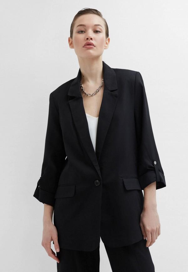 женский пиджак zarina, черный