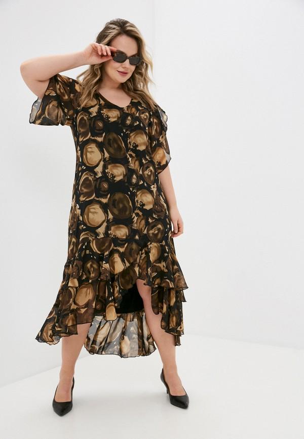 женское повседневные платье sparada, коричневое