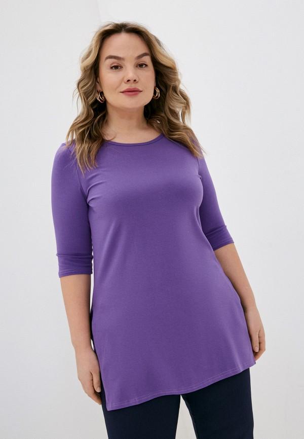 женская футболка sparada, фиолетовая